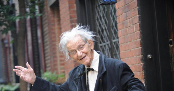 THE PROFESSOR IS 102 TODAY