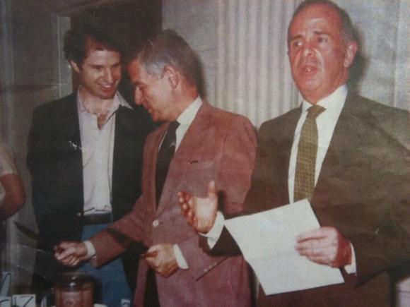 Ron Wyden, Mark Hatfield and Gerry Frank