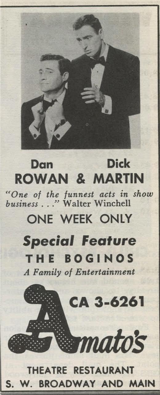Rowan martin 1956