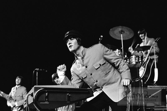 BEATLES ON STAGE IN PORTLAND