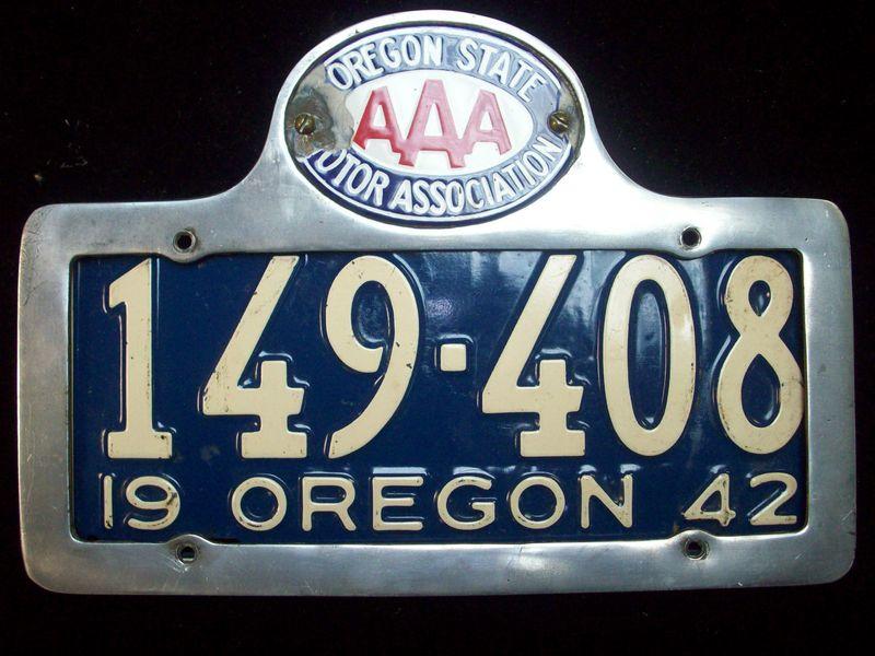 Lic plate 42