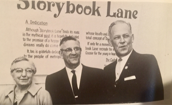 Dedication of Storybook Lane at Alpenrose