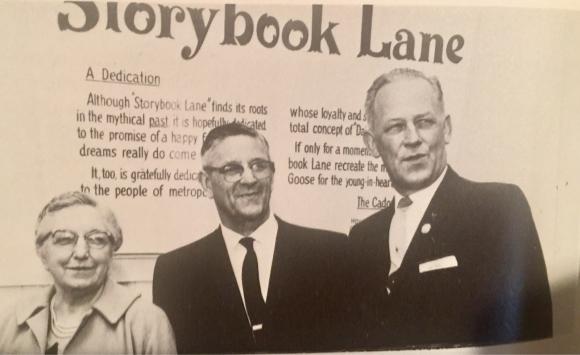 Dedication of Storybook Lane at Alpenrose