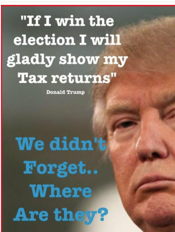 ITS TAX DAY .... where's his?