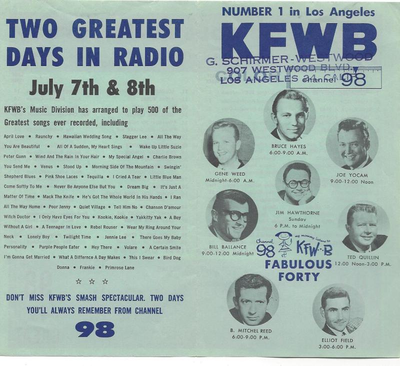 Radio kfwb gr