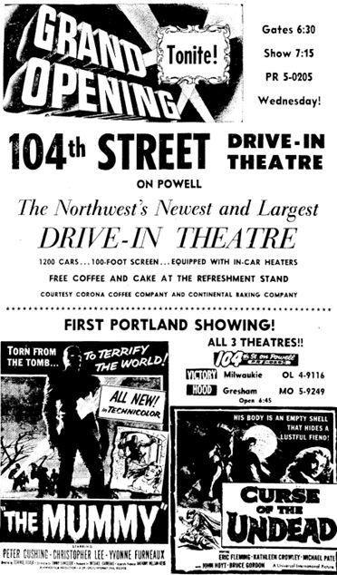 DRIVE-IN ADS