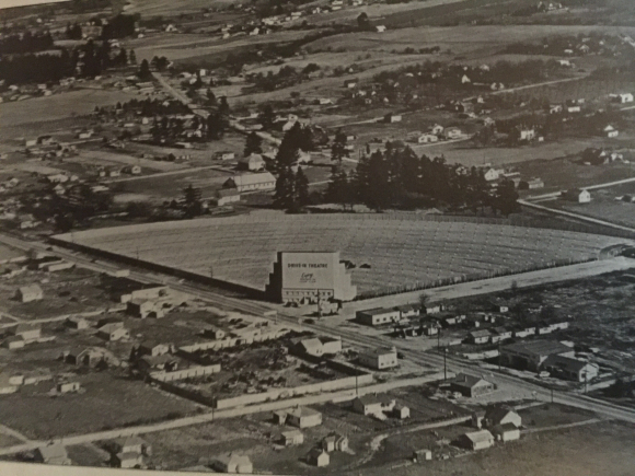 1948 VIEW OF THE NEW 82nd St Drive In