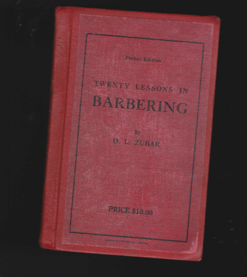 Barvber book
