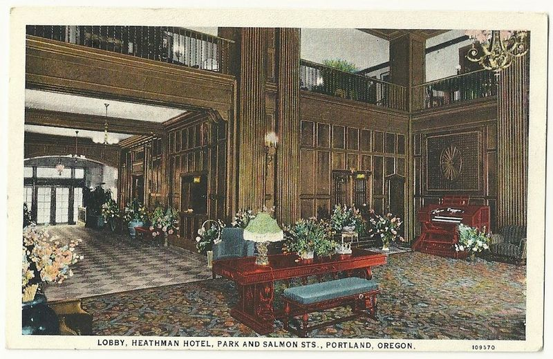 Heathman lobbyw