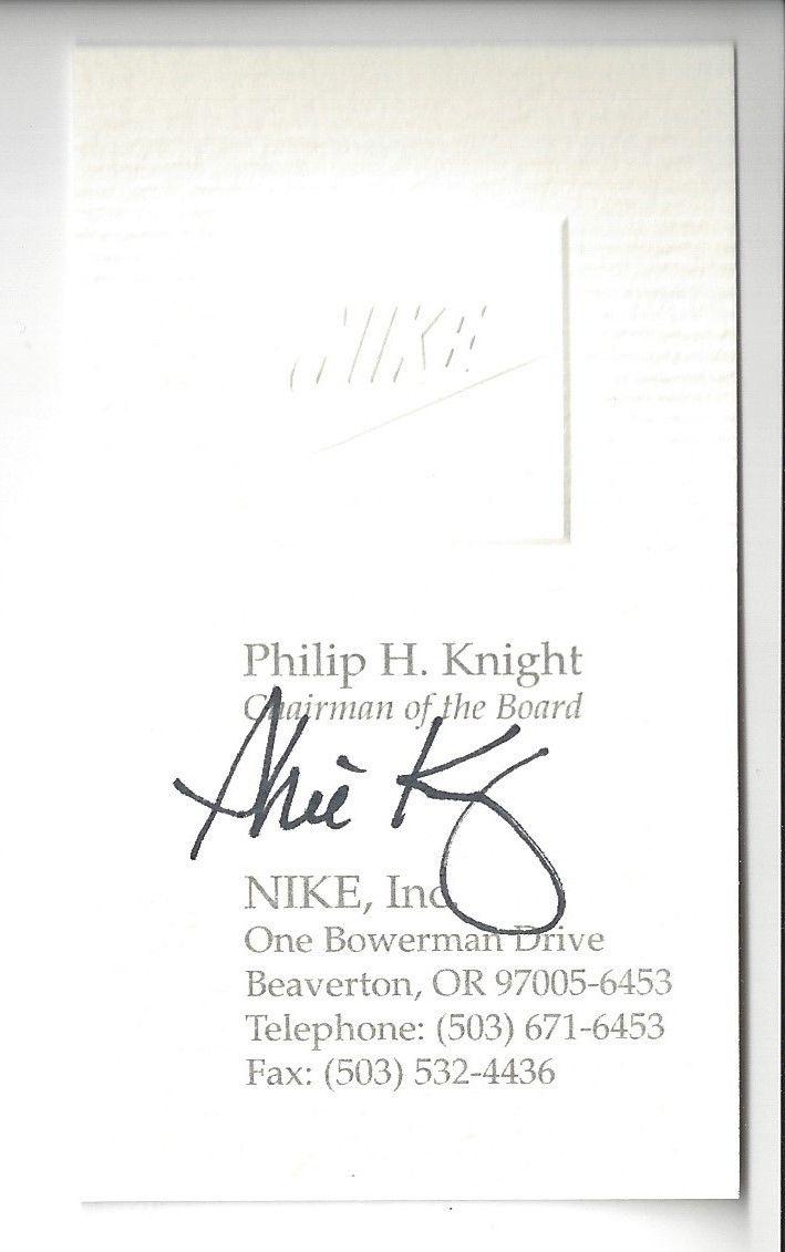 PHIL KNIGHT AUTOE