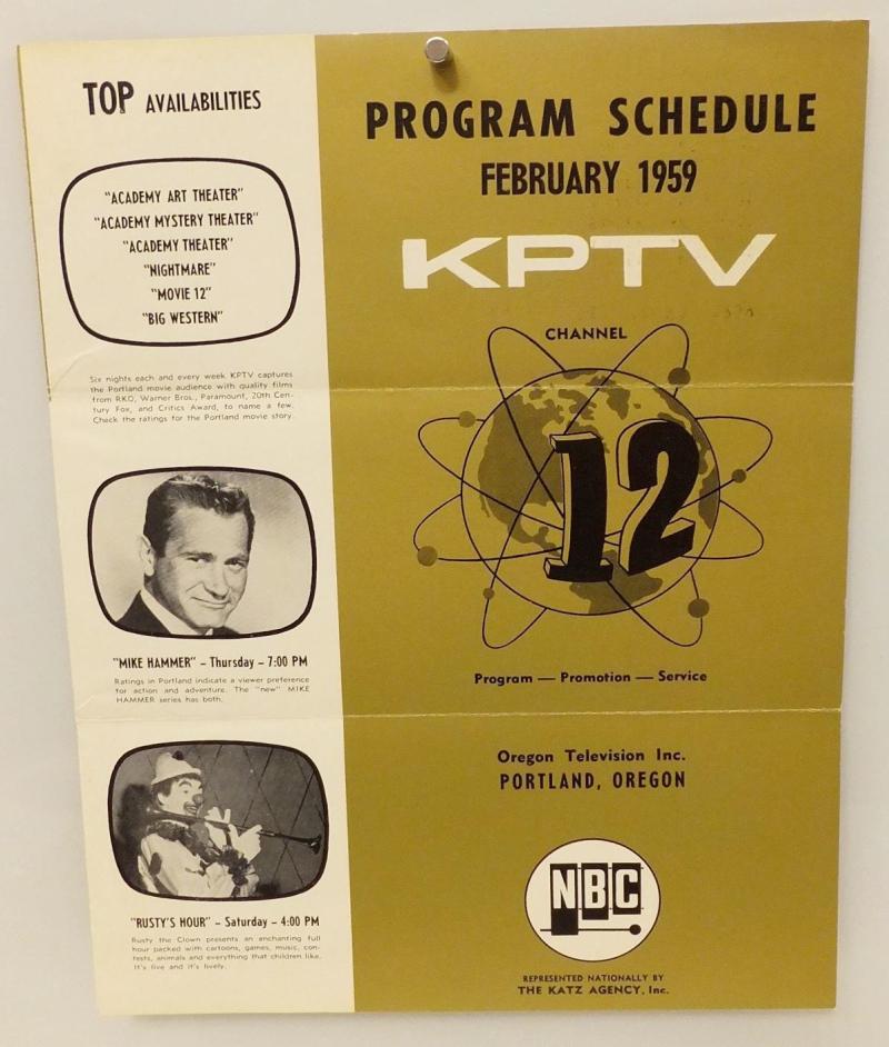KPTV SCHEDULE 59