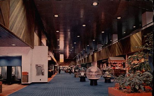 Airport interior