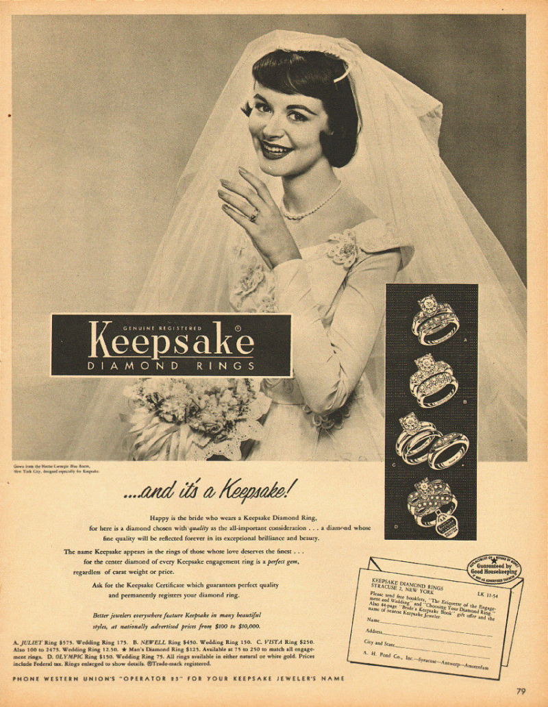 KEEPSAKE AD