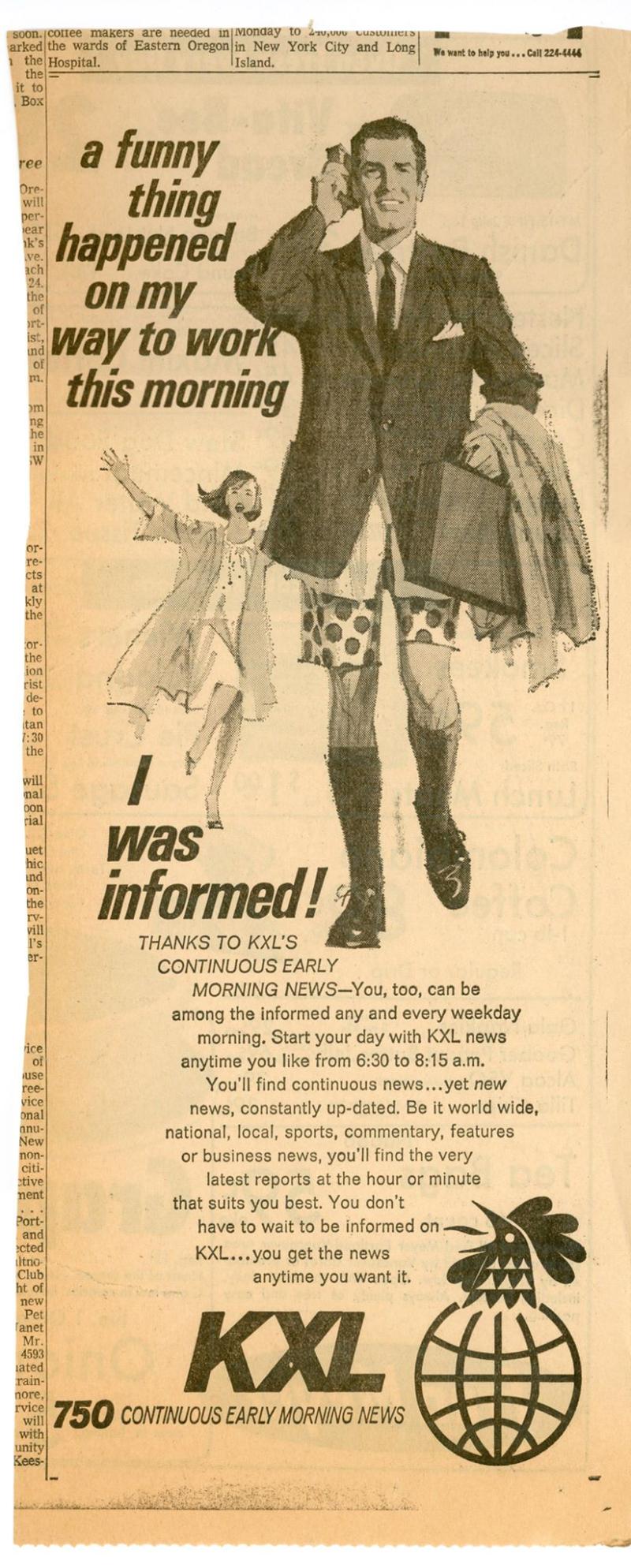 Kxl informed