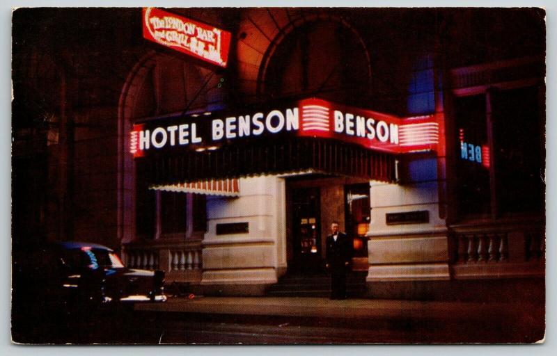 Benson post card 1a