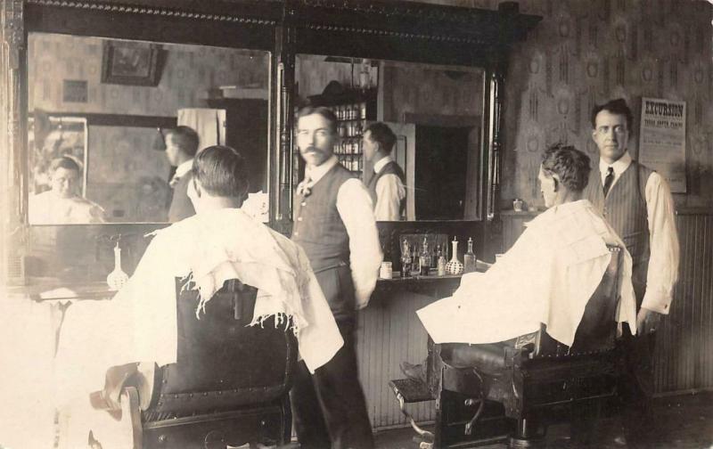 Barber look 1